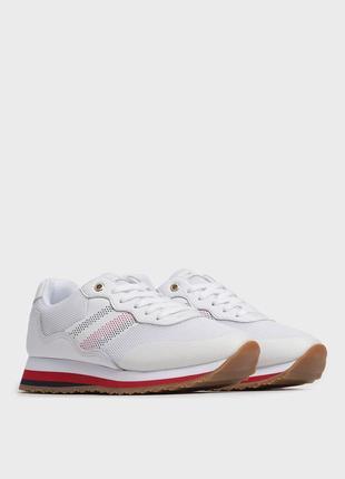 Кроссовки белые tommy hilfiger