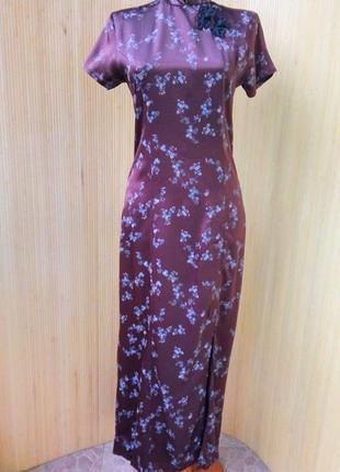 Платье цветочный принт pandora