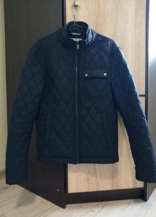 Демисезонная стеганая куртка зара