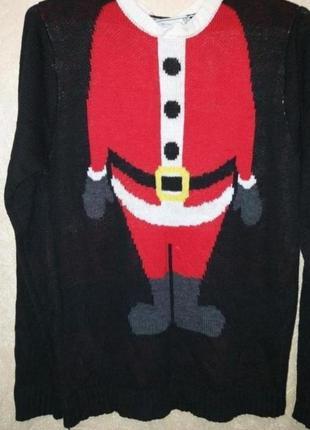 Новогодний свитерок санта клаус свитер дед мороз