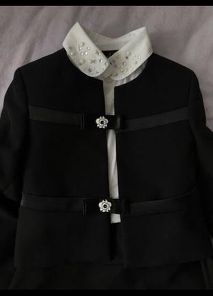 Dresdren школьная форма,модель chanel