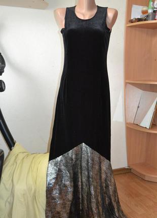 Суперэффектное вечернее платье!!! турция.      р.48 укр.