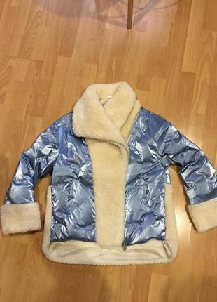 Супер тёплая и модная куртка пуховик