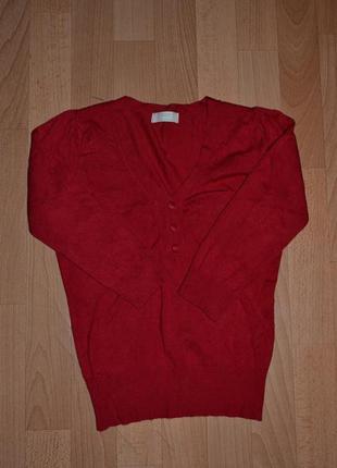 Красная кофта marks&spencer