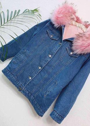 Куртка курточка джинс джинсовая цвета в ассортименте