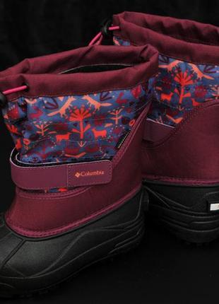 Зимние детские ботинки columbia, размер 31  финальная распродажа!