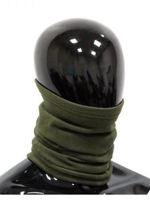 Флісовий теплий бафф (снуд, шарф-труба, багатофункціональний шарф)