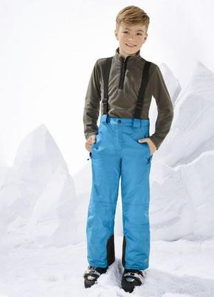 Лыжные штаны, термо штаны полукомбинезон crivit рост 134-140 и 146-152