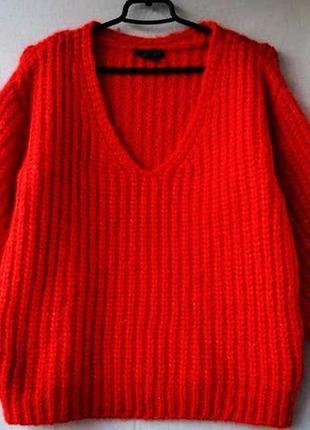 Толстый мохеровый свитерок