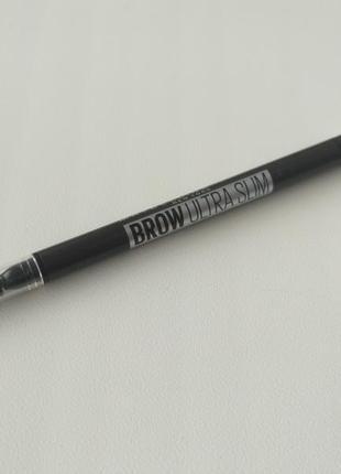 Карандаш для бровей maybelline чёрный