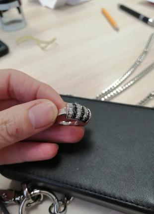 Серебрянное кольцо 925