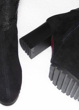 Зимние сапоги, черного цвета, 36,38,39,40р5