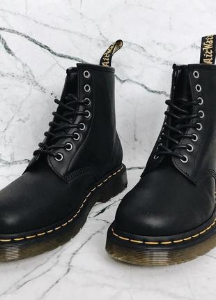Оригинальные ботинки 1460 wintergrip black snowplow