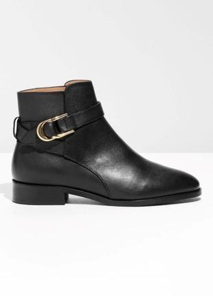 & other stories распродажа кожаные ботинки