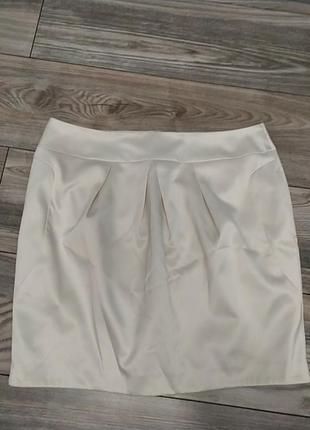 Изящная юбка цвета айвори