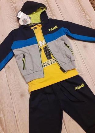 Детский спортивный костюм для мальчика  s&d венгрия