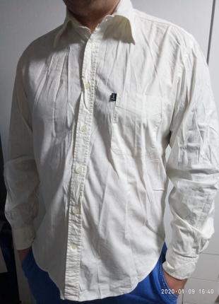 Рубашка трусарди джинс