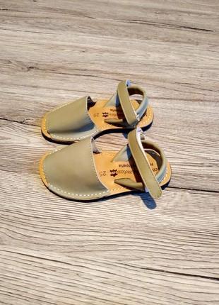 Menorquna сандали босоножки кожаные по типу ecco