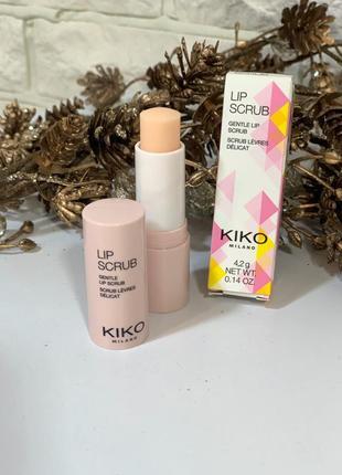 Скраб для губ от kiko