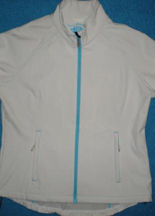 Куртка горнолыжная mari philippe xxl р. 56- 58 белого цвета