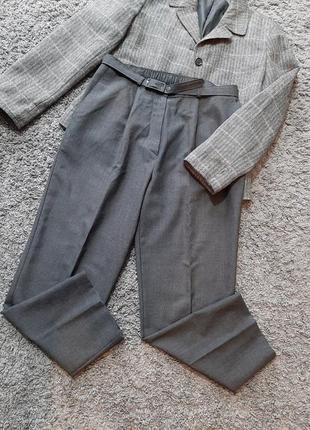 Серые/графитовые брюки ( шерсть)🔥