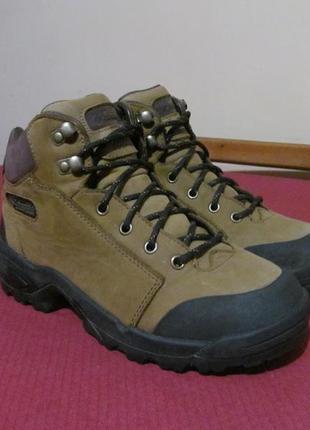 Ботинки columbia wood path mid waterproof