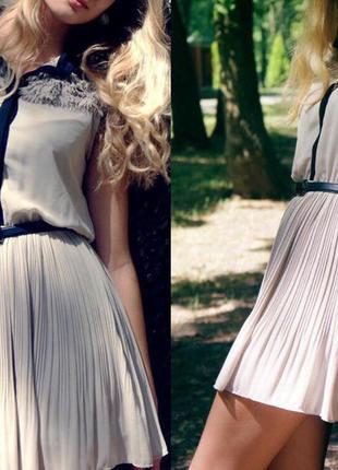 Плессированное платье kira plastinina