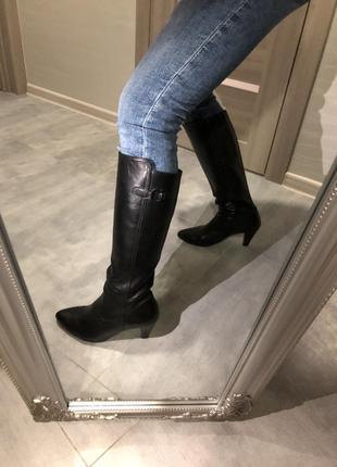 Gabor шкіряні чоботи