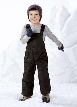 Полукомбинезон для мальчика, термо штаны lupilu рост 86-92