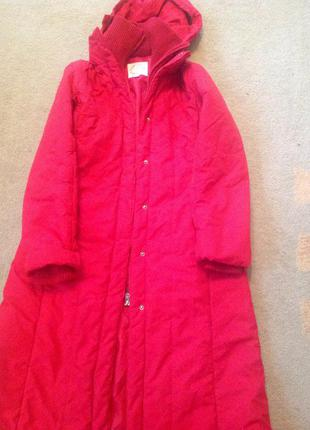 Пальто , куртка, пуховик mng mango  m зима, капюшон2