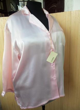 Рубашка натуральный шелк yourn boutique