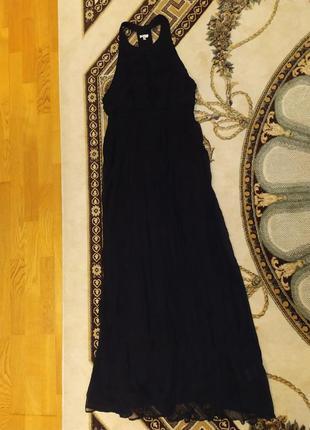 Шелковое платье длинное gianfranco ferre