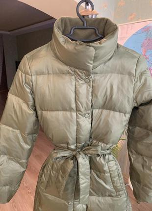 Распродажа, пуховик, куртка gap, на худышку.5 фото