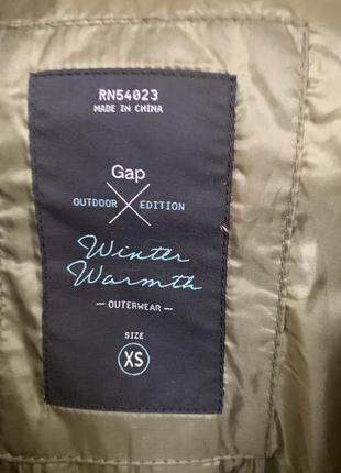 Распродажа, пуховик, куртка gap, на худышку.7 фото