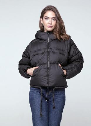 Скидка! зимний короткий пуховик - куртка для девушек. модель 2020