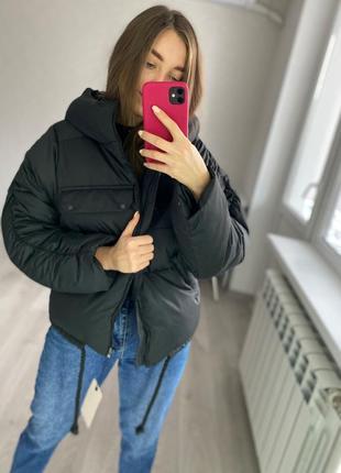 Распродажа! зимний короткий пуховик - куртка для девушек. модель 2020