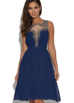 Платье роскошное вышивка frock frill р.42-44 №7426 9828eb4147c86