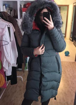 Зимній пуховик