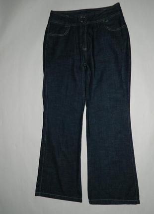 Синие расклешенные джинсы slim bootcut от next размер 16