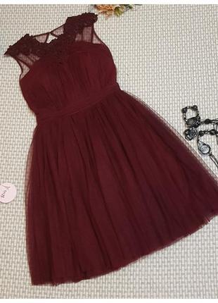 Вечернее платье с пышной юбкой little mistress