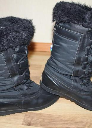 Взуття зимове тепле sorel canada original 37-38р ботинки,