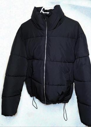 Куртка чёрная - oversize.🤩