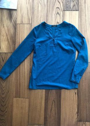 Синяя лазурная ультрамариновая блуза reserved
