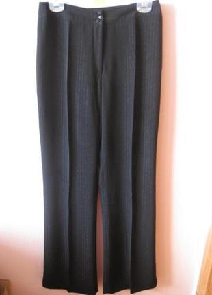 Вечерние брюки полоска люрекс
