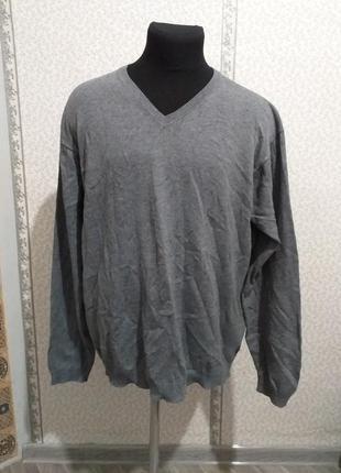 Пуловер из натуральных материалов.