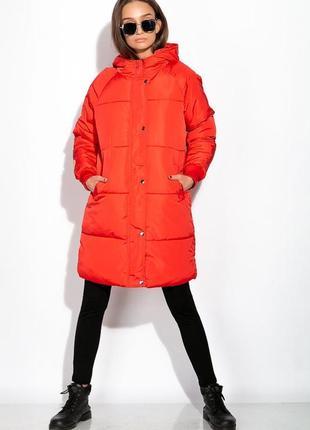 Женское пальто, пуховик, размер м-л