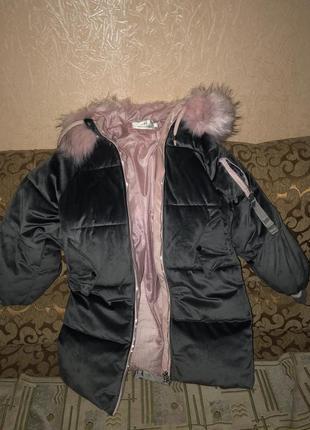 Курточка зимняя удлинённая