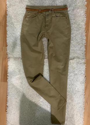 Брендовые котоновые джинсы replay размер 33/36 производитель италия
