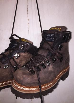 Кожаные ботинки blackstone (usa)