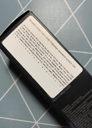 Оригинальная тональная основа shiseido2 фото